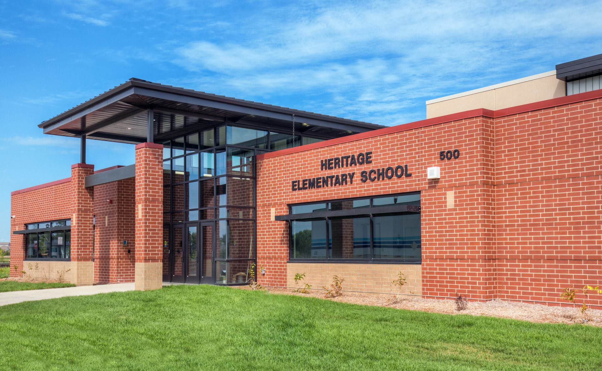 heritage elementary building