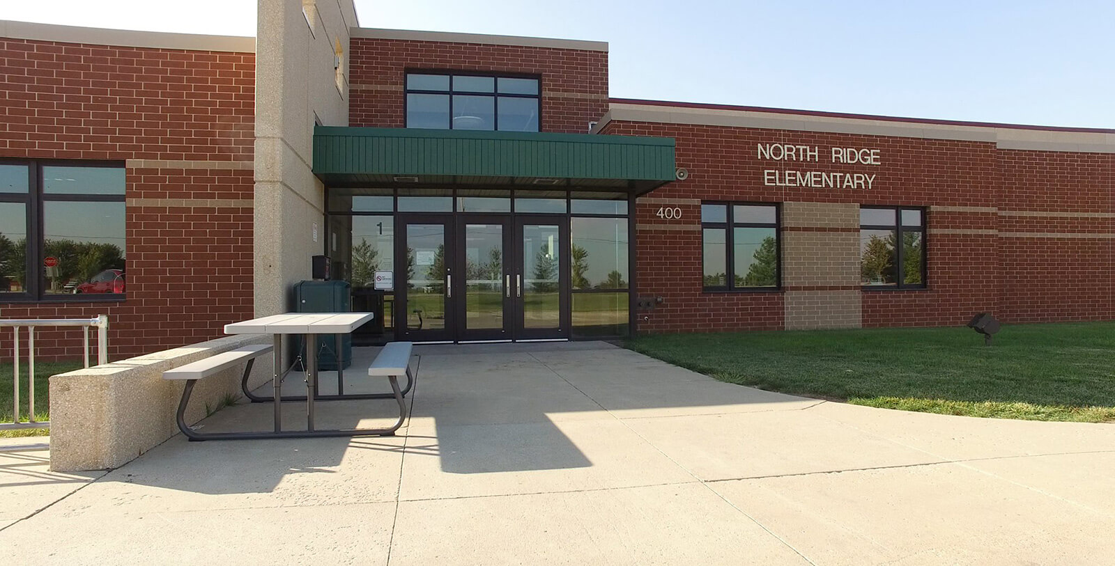 north ridge elementary building